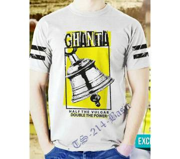 Ghanta Mens Half Sleeve T-Shirt