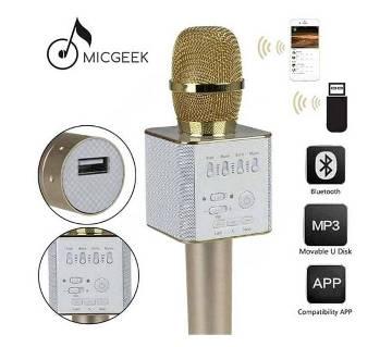 TUXUN Q7 karoke Bluetooth microphone