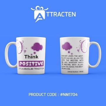 Think Positive Mug (1 pcs)