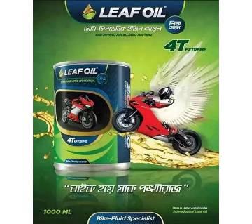 LEAF OIL ইঞ্জিন অয়েল- ১ লিটার (১২ পিসের প্যাক)