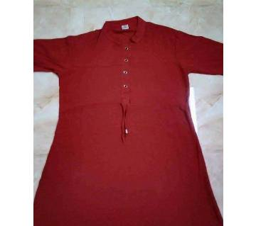 Ready made linen long kurti