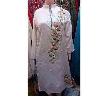 Ready made linen short kurti