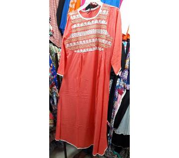 Ready made cotton short kurti