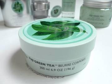 Fuji Green Tea বডি বাটার