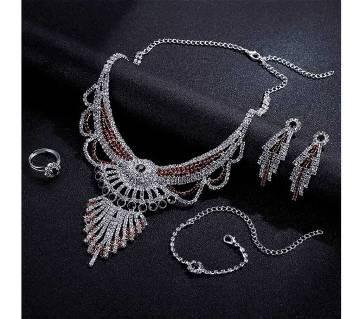 diamond cutting jewellery set