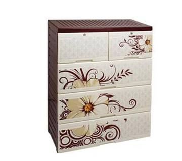Flossy Daisy Wardrobe (Double Four Drawer)