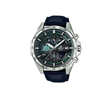 Casio Black Leather Wrist Watch for Men