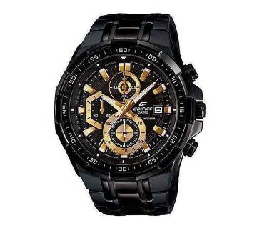 Casio Black Stainless Steel Wrist Watch For Men.