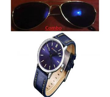 Ray Ban sunglasses for men copy and Rolex wrist watch for men copy combo