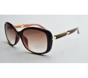 Brown shed sunglass