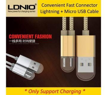 LDNIO MICRO USB CABLE