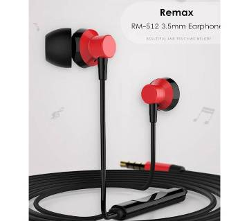 REMAX RM-512 Wired Earphone