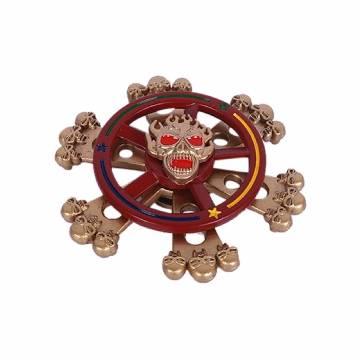 Danger Metal Fidget Spinner Stress Reducer Toy