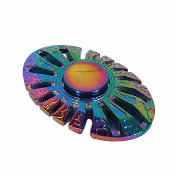 Egg Metal Fidget Spinner Stress Reducer Toy