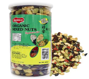 NUTTOS ORGANIC MIXED NUTS 400GM Malaysia