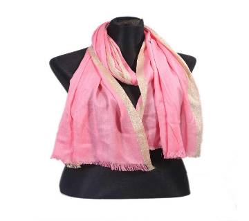 Pink Pashmena Hijab for Women