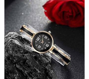 IE-LY Stainless Steel Analog Watch for Women - Golden