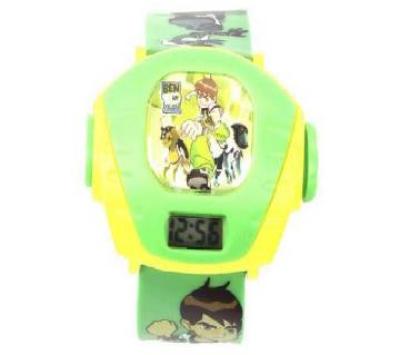 Ben 10 Projector Watch For Kids - Green