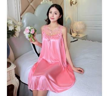Pink Cotton Nightwear for Women