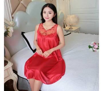 Red Cotton Nightwear for Women