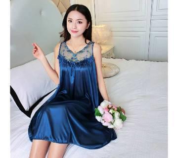 Teal Cotton Nightwear for Women