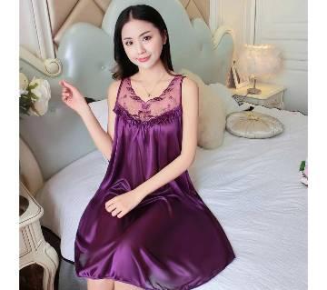 Violet Cotton Nightwear for Women
