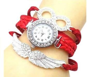 Bracelet Watch for Women - red