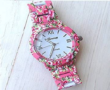 Simulated Ceramics Wrist Watch for Women