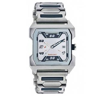 Silver Stainless Steel Wrist Watch For Men