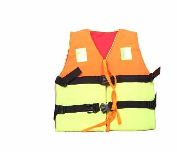 sports Museum Life Jacket - Orange and Lime