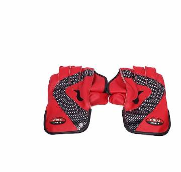 sports Museum Cricket Keeping Gloves - Red