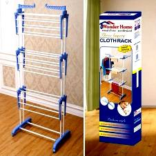 Three Layer Cloth Hanging Stand