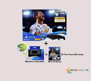 Sony PS4 500 GB FIFA 18 Bundle with FIFA 18 Ultimate Team Icons and Rare Player
