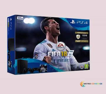 SonyPS4 500GB FIFA Ultimate Team Icons Rare Player