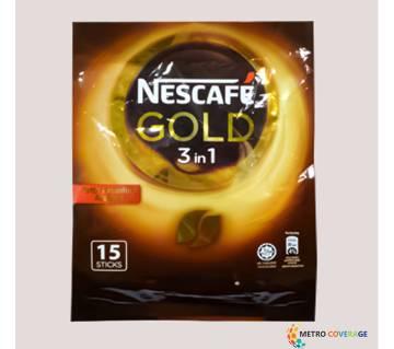 Nescafe Gold 3 In 1 15 Sticks 20x15 (gm)