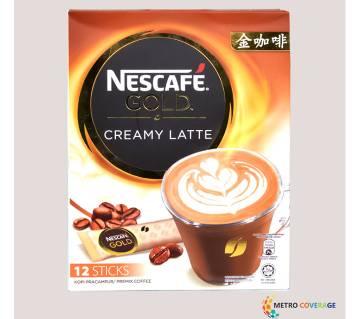 Nescafe Gold Creamy Latte 12 Sticks 12×34(gm)