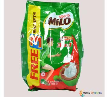 Nescafe Milo 3 In 1 18+3 Sticks 12×36(gm)