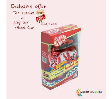 Kitkat(Chocolate) 2F with hot weel car free