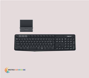 KEYBOARD K375S MULTI-DEVICE WIRELESS AND STAND COM