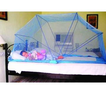 Push & Pull Fold adult Mosquito Net for Single Bed(Multi Color)