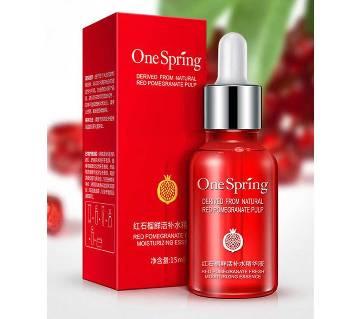 Red Pomegranate Fresh Moisturizing Essence - 15ml-China