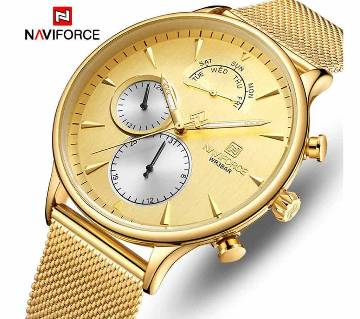 NAVIFORCE NF3010 Top Luxury Mens Brand Watches Fashion Ultra-Thin Waterproof Quartz Watch Men