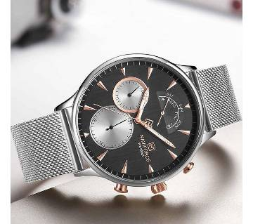 NAVIFORCE NF3010 Top Luxury Mens Brand Watches Fashion Ultra-Thin Waterproof Quartz Watch