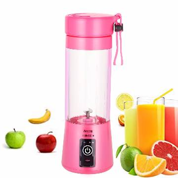 Rechargeable electric mini juice blender