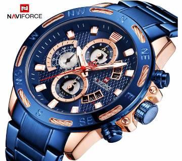 NAVIFORCE 9165 Blue Men Sport Chronograph Watch