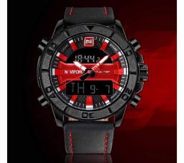 NAVIFORCE NF9114 Men Fashion, Casual, Sports Belt Quartz Watch Date Week Calendar 24 Hour display