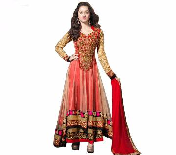 Indian Unstitched Embroidery Georgette Three Piece (Copy)