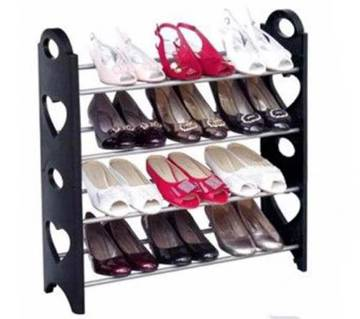 4-Tier Expandable Shoe Rack