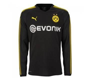 2017-18 Borussia Dortmund Away Full Sleeve Jersey