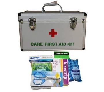 Care First Aid Kit Box With First Aid Items